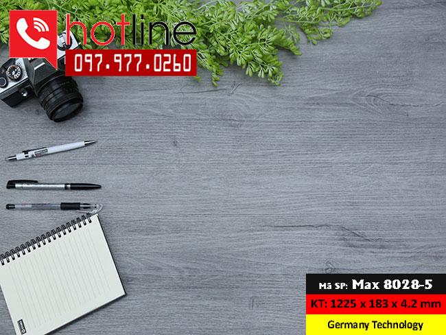 Sàn nhựa MaxFloor mã Max 8028-5