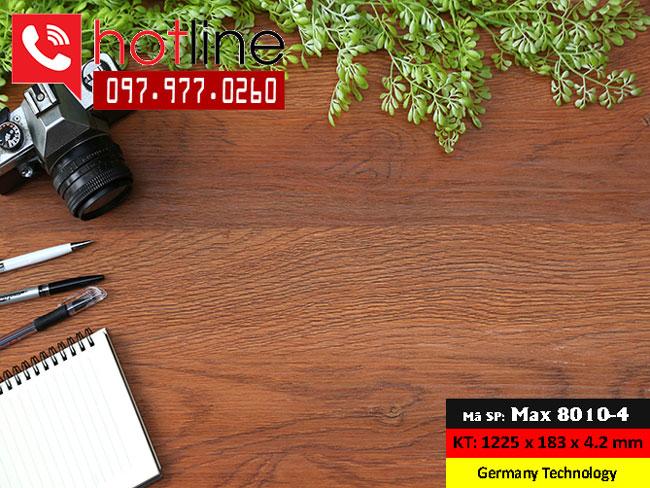 Sàn nhựa MaxFloor mã Max 8010-4