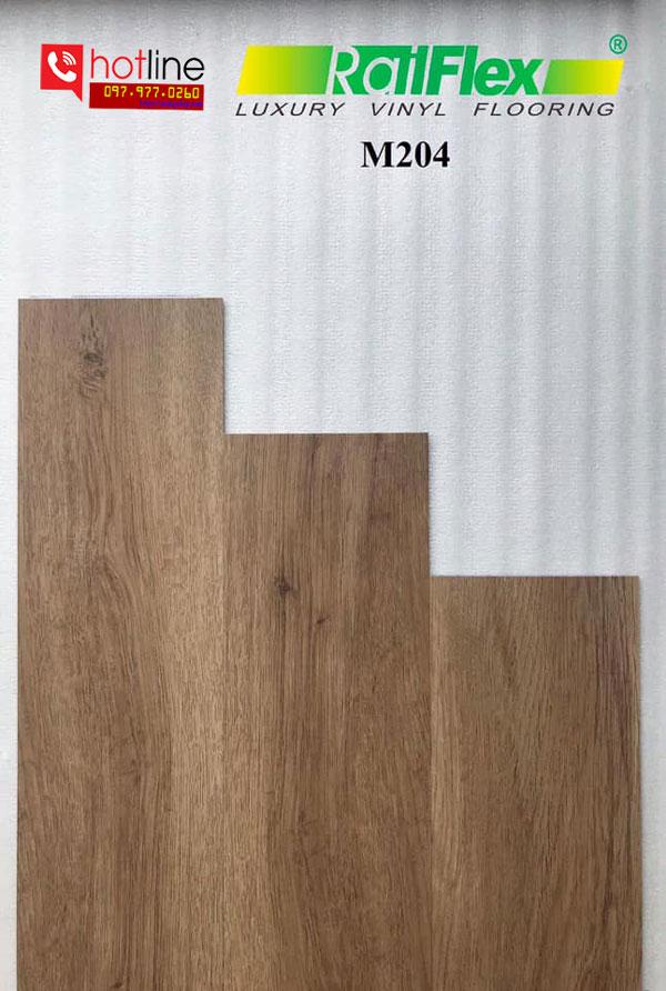 Sàn nhựa dán keo Railflex M204
