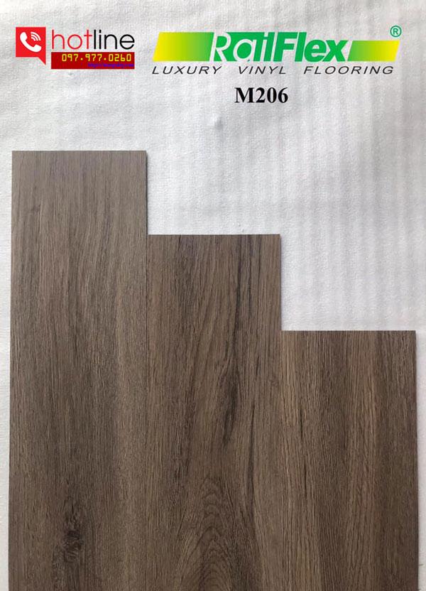 Sàn nhựa dán keo Railflex M206