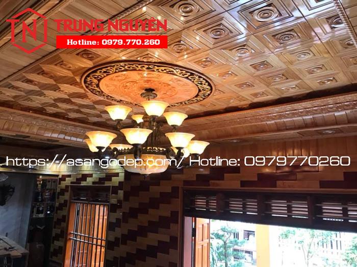 Giá trần nhà gỗ Pơ Mu