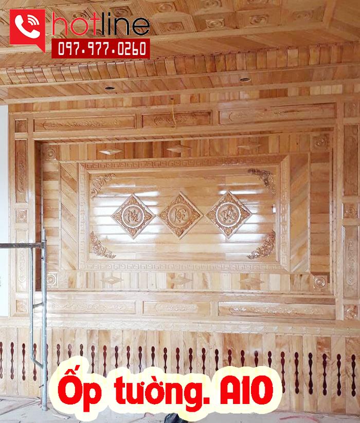 Mẫu trần gỗ TG A10